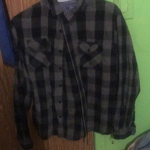 Other - Black and gray flannel